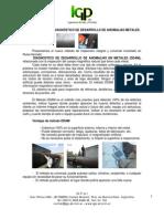Diagnóstico de Desarrollo de Anomalías en Metales1