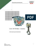 Mecánica V8 TDI