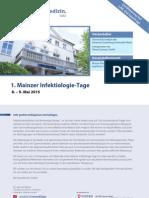 1. Mainzer Infektiologie-Tage