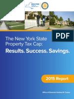 Cuomo Property Tax Cap Report