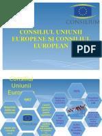 Consiliul Uniunii Europene Și Consiliul European