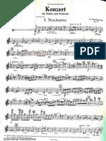 Shostakovich Violin Concerto No. 1