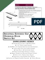 GRI 250-36WG Data Sheet