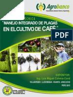 MANEJO INTEGRADO DE PLAGAS DE CAFE
