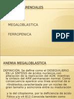"""Tema 2. Anemias Por Trastornos de Producciã""""n, Anemia Ferropenica, Diagnã""""Stico Diferencial, Anemia Megaloblã-stica - Dra. Nilda Iriarte"""
