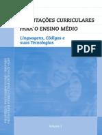 Orientações Curriculares do Ensino Médio