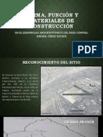 Forma Función y Materiales de Construcción Sechín 2