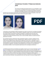 Promociones De Tratamietnos Faciales Y Rejuvenecimiento En la capital de Espana