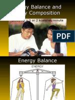 Ch 8 Energy Balance Andbody Composition