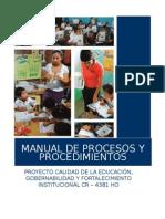 Manual de Procedimientos Cr4381 2013 Mod04102013