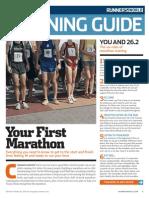 Your First Marathon