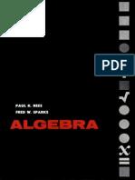 Algebra Rees Sparks