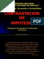 Contrastacion de Hipotesis 2015 Ptp