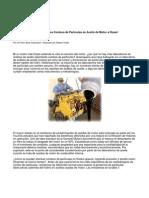 La Agonía de Los Conteos de Partículas en Aceite de Motor a Diesel