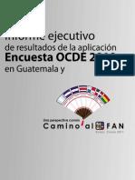 Informe OCDE Año 2010