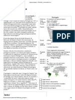 Língua Portuguesa – Wikipédia, A Enciclopédia Livre