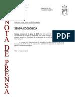 150603 NP- MEDIO AMBIENTE Senda Ecologica en El Humedal
