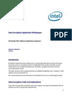 Data Encryption Sample White Paper