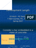 Development Length