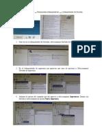 Configuración de Servidores de Impresión, Fax, Web, Aplicación, Servidor DHCP
