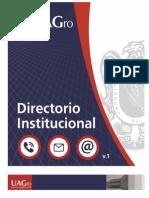 Directorio Institucional Uagro 2013