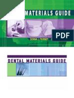 Materials Guide Delmar's Dental