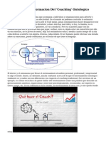El Poder De Transformacion Del 'Coaching' Ontologico