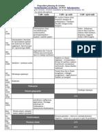Proposition de planning de révision 2015