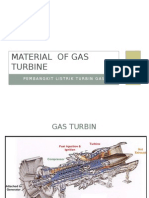 Material of Gas Turbine