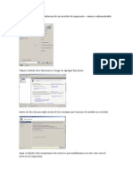 Instalación de Servidores de Impresion, Fax, DHCP, Aplicación