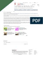 El Vallero Samuel García Publica Un Libro Sobre La Presencia Extraterrestre