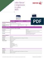 WC6605DN especificaciones
