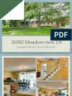 26802 Meadowview Farmington Hills MI | Pleasant Valley Farms Colonial