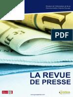 Nsia Revue de Presse Du Lundi 13 Avril 2015