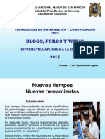 Clase 03 Blogs & Wikis