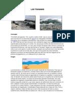 Los Tsunamis Geologia