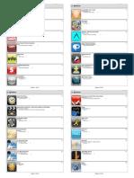 Aplicativos iPad