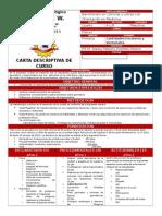 Carta Descriptiva Fisica I 4BM