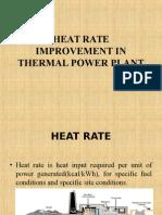 Heat Rate Improvement