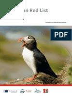 Redlist - Birdlife Publication