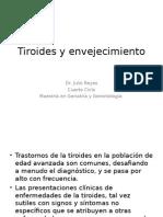 Tiroides y Envejecimiento