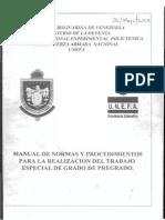 Manual de TEG