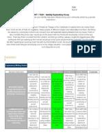 unit 1 task - identity explanatory essay - jahware roberts