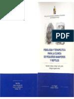 Fisiología y Terapéutica Pequeños Mamiferos y Reptiles