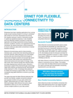 Ethernet for Connectivity to Data Centers