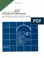 El Departamento de Registros Médicos Guía Para Su Organización