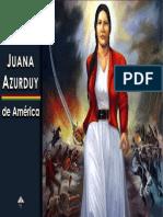 Mujeres Destacadas- Juana Azurduy de América