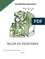 Taller Escritores Programa