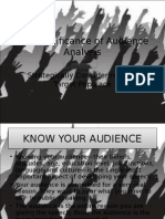 (2003 format )The Significance of Audience Analysis.ppt