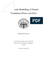 Network model Tunnel ventilation